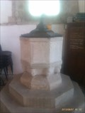 Image for Baptism Font, St Peters Church - Wootton Wawen, Warwickshire