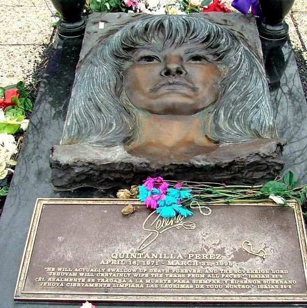 Selena Quintanilla-Perez - Grave of a Famous Person on Waymarking.com