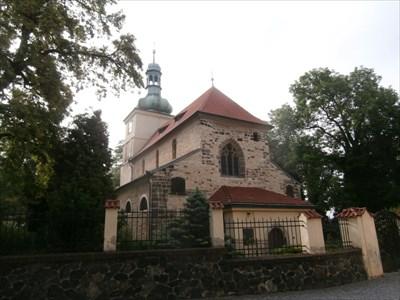 TB 1420-2 Prosek, kostel