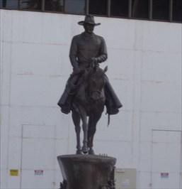 veritas vita visited John Wayne