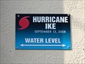 Image for Hurricane Ike High Water Mark - Schlitterbahn - Galveston, TX