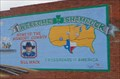 Image for Welcome to Shamrock - Artistic Sign - Route 66, Texas. USA.