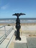 Image for National Cycle Network millennium milepost, Prestatyn, Sir Ddinbych, Wales