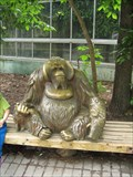 Image for Orangutan sculpture