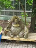 Image for Orangutan sculpture