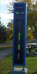 Image for Countdown eco-display, Lac Boivin, Granby, Qc, Canada