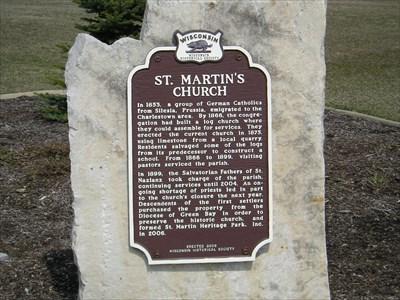 St. Martin's Church Marker