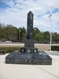 Image for Veterans Memorial Obelisk - Crystal River, FL
