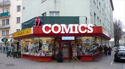 Comics Hutterer Vienna Austria Comic Book Shops On Waymarkingcom