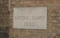Image for 1953 - Paola Masonic Temple - Paola, Kansas