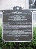 Image for WEST SIDE GROUNDS marker - Chicago,IL