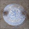 Image for Manhole cover in Wallenstein Garden (Prague)