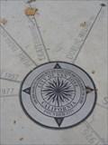 Image for San Jose city hall compass rose - San Jose, CA