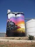 Image for Silo art - Farrell Flat, S.A. Australia