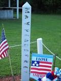 Image for Hannibal American Legion Peace Pole - Hannibal, N.Y.