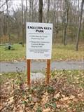 Image for Eagleton Glen Park Sign - Adam Kaiser - Salem, Ohio