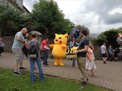 Giant Pikachu - The Big Cheese - Caerphilly