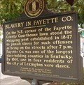 Image for Slavery in Fayette Co. / Cheapside Slave Auction Block
