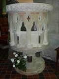 Image for Pulpit, St Benedict Biscop, Wombourne, South Staffordshire, England