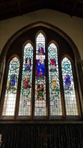 Image for Stained Glass Windows  - St Andrew - Swavesey, Cambridgeshire