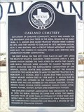 Image for Oakland Cemetery