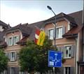 Image for Municipal Flag - Breitenbach, SO, Switzerland