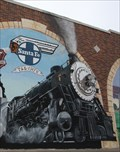 Image for Railroads of Johnson County mural -- Cleburne TX