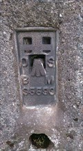 Image for Trigometric Pillar, Bryn Garw, Pen y Garn, Cwm Ystwyth, Ceredigion, Wales, UK