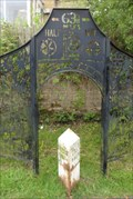 Image for Leeds Liverpool Canal Half Way Milestone – Church, UK