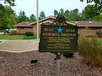 Blue Star Highway, at the Davidson County Rest Stop,
