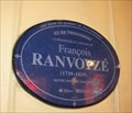 Image for La plaque bleue de F. Ranvoysé-Québec,Canada