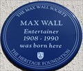 Image for Max Wall - Mowll Street, London, UK