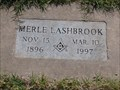 Image for 100 - Merle Lashbrook - Summit View Cemetery - Guthrie, OK