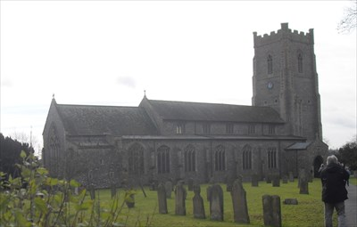 ...the church from the north-east.