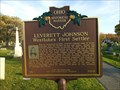 Image for Leverett Johnson Westlake's First Settler / Evergreen Cemetery (103-18)