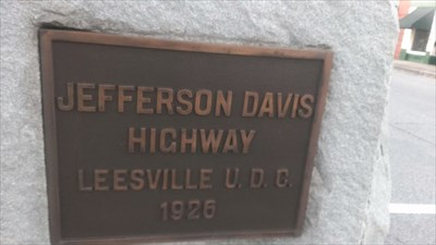 At intersection of US 1 and Main Street, Leesville, South Carolina