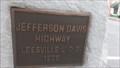 Image for Jefferson Davis Highway Marker 1926 - Leesville, South Carolina