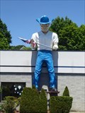 Image for Muffler Man Cowboy: Big Bob - Norwich, CT