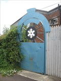 Image for The Albany Engineering Gate - Albany Pumps, Church Road, Lydney, Gloucestershire, UK