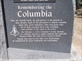 Image for Remembering the Columbia - Fresno CA