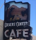Image for Desert Center Cafe - Desert Center, CA