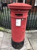 Image for Victorian Pillar Box - Laburnum Street - Bethnal Green - London E2 - UK