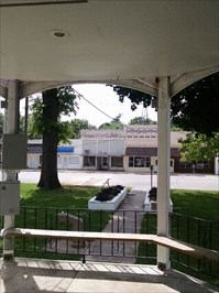 Looking west from the Gazebo at Sarcoxie City Park, by MountainWoods