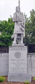 Image for Columbus Statue in Springfield, MA and Columbus Crater on Mars