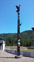 Image for Rogue River Chieftans Totem Pole - Rogue River, OR