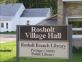 Image for Rosholt branch - Portage County Public Library - Stevens Point, WI