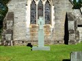 Image for Combined  War Memorial, St Margaret of Antioch Church, Wray, Cumbria, UK