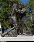 Image for The mythological wrestling match between Heracles and Antagoras - Kos town (Kos Island, Greece)
