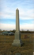 Image for Hill's Obelisk - Walnut Grive Church Cemetery - Cooper County, MO