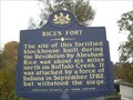 Image for Rice's Fort